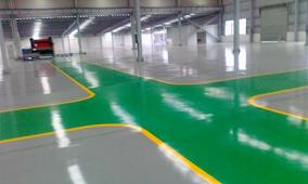 环氧地坪漆对混凝土地面合格的标准